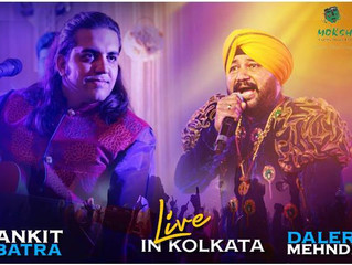 An Honor to be performing at same place as Daler Paaji :-)