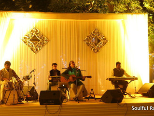 Excellent Corporate Sufi Show by Soulful Raaga Band !!