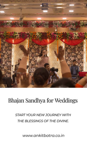 Niyati & Archit : Wedding Satsang