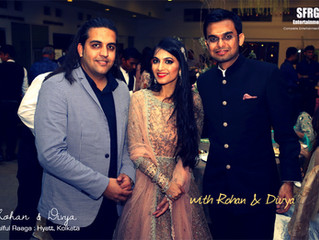 Congratulations Rohan & Divya !!