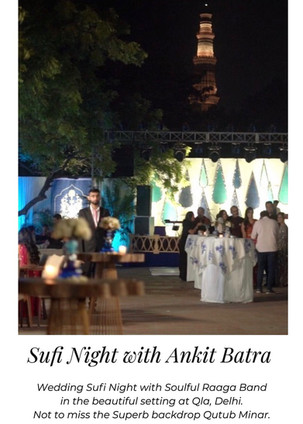 Sufi Night at Qla, New Delhi