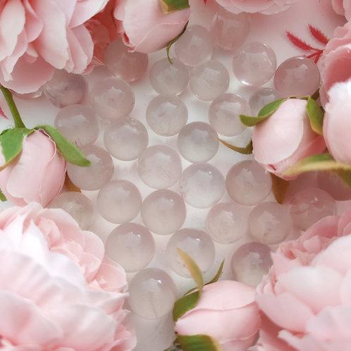 Bille de quartz rose