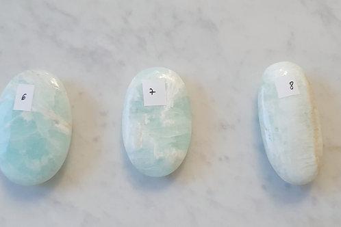 Galet en Calcite des caraïbes - 60 à 100g