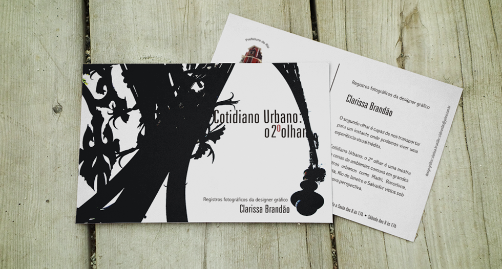 Promotional_Exhibition Casarao Postcard.