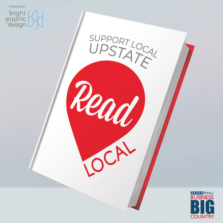 Bright Graphic Design creates a marketing campaign to support local writers and authors in SC