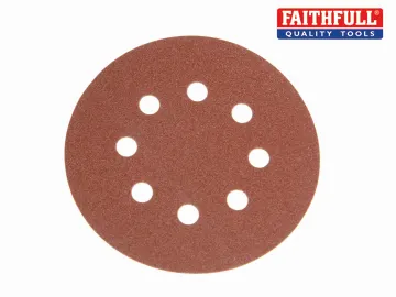 Hook & Loop Sanding Discs 240g 115mm 273212 Pack of 10