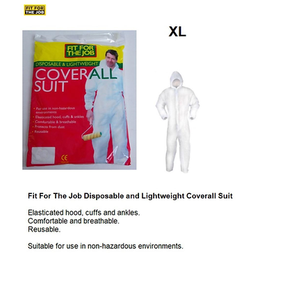 Disposable Hooded Overall FFJECM XL