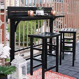 Black Balcony Bar