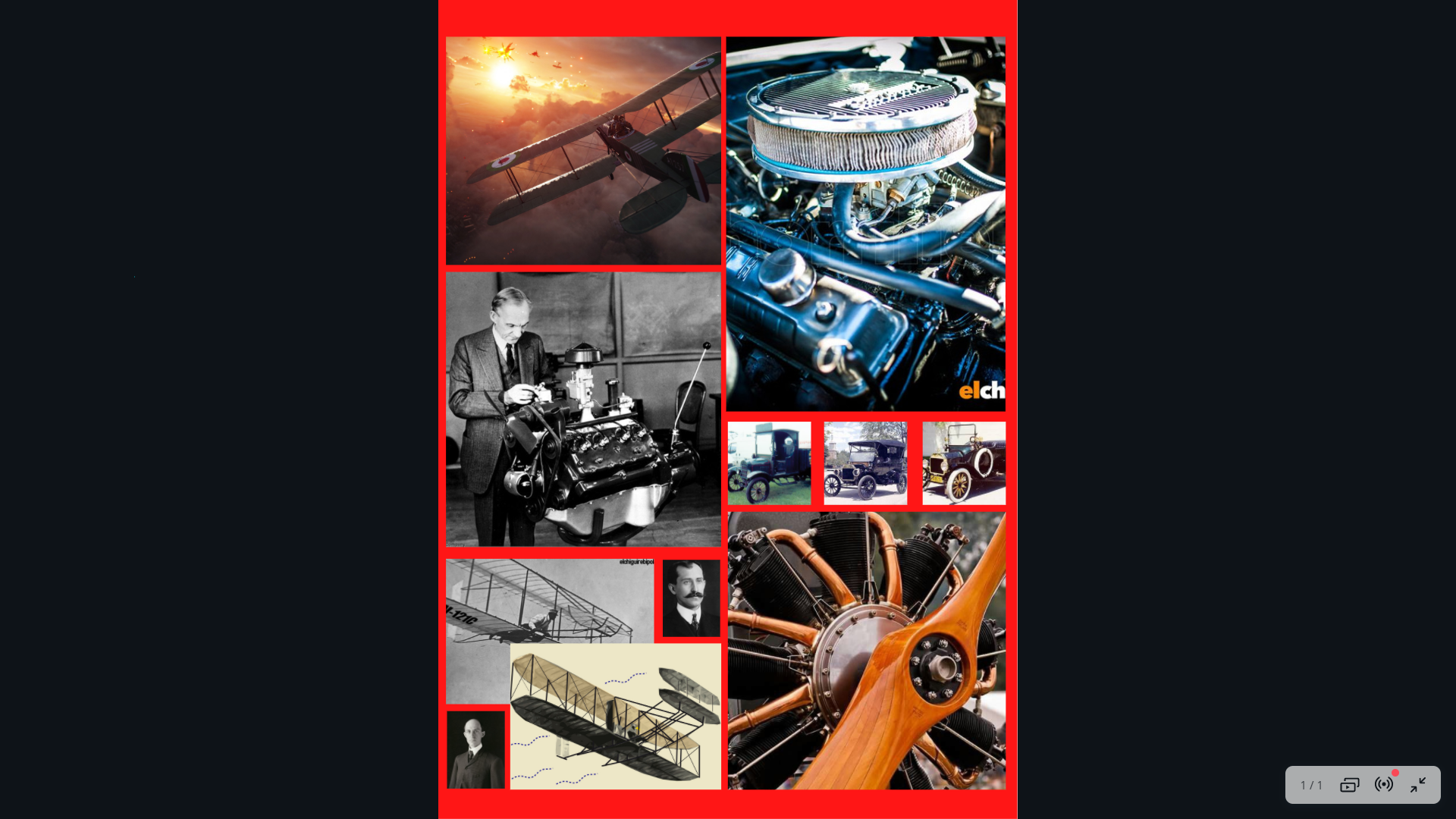 imagen de motores a explosion