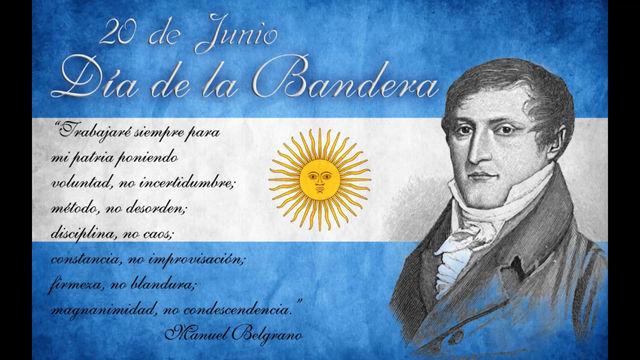 Acto virtual - Video conmemorativo por el Día de la Bandera y Manuel Belgrano