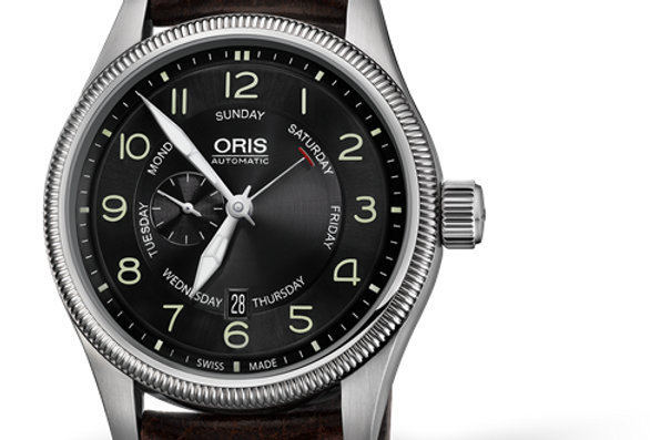 ORIS BIG CROWN SMALL SECOND, POINTER DAY Ref. 01 745 7688 4064-07 5 22 77FC