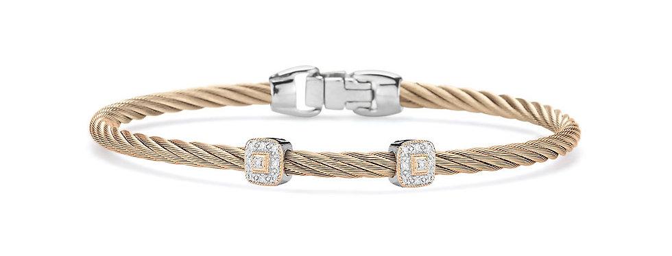 Alor Carnation Cable Essential Stackable Bracelet Ref. 04-26-S924-11