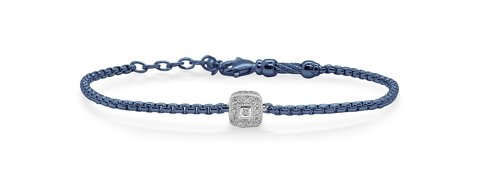 Blueberry Chain Expressions Bracelet Ref. 06-28-1004-11