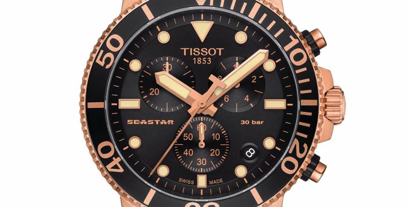 TISSOT SEASTAR 1000 CHRONOGRAPH WATCH T120.417.37.051.00