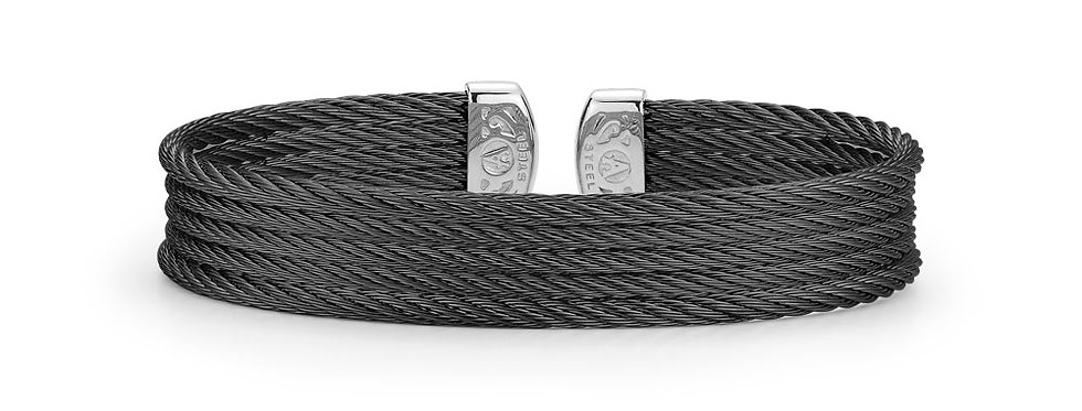 Alor Black Cable Mini Cuff Ref. 04-52-0605-00