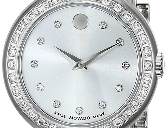 Movado Concerto Diamond Mother of Pearl Ladies Watch 0606423