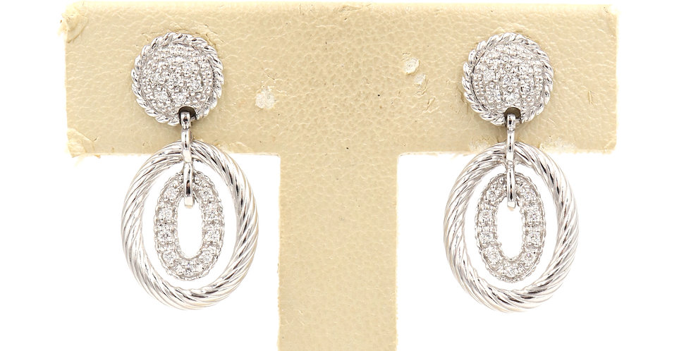 Alor 18k White Gold Earrings Ref. 03-08-9208-11