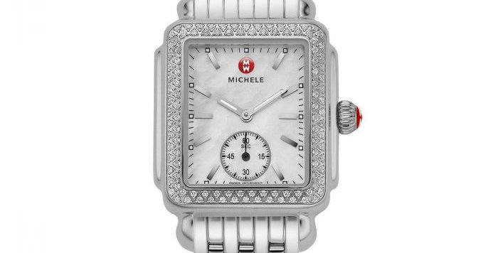 Michele Deco Mid Diamond Watch MWW06V000001