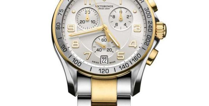 Victorinox Swiss Army Chrono Classic Two Tone Watch 241509