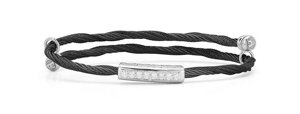 Black Cable Flex Size Bracelet Ref. 04-52-0060-11