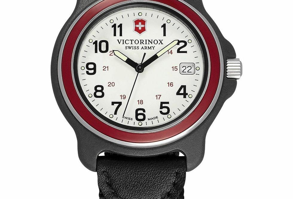 Victorinox Swiss Army Original XL GMT White Dial Black Nylon Strap Watch 249085