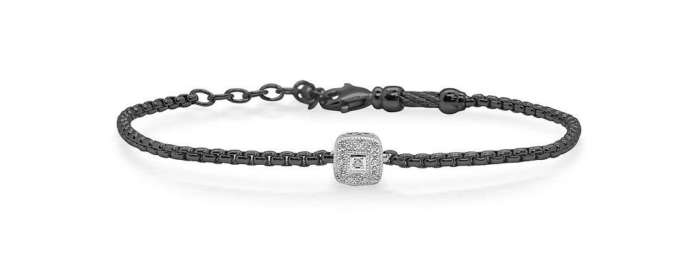 Black Chain Expressions Bracelet Ref. 06-52-1004-11