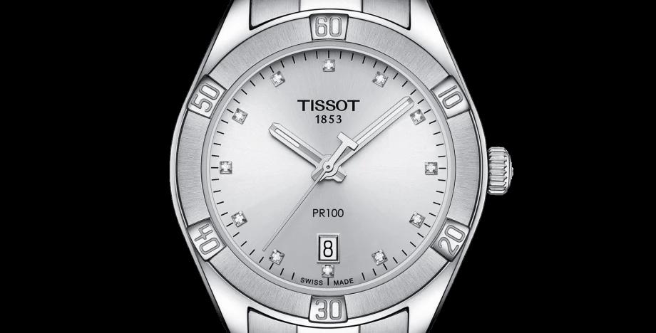 Tissot PR 100 Sport Chic Ladies Watch