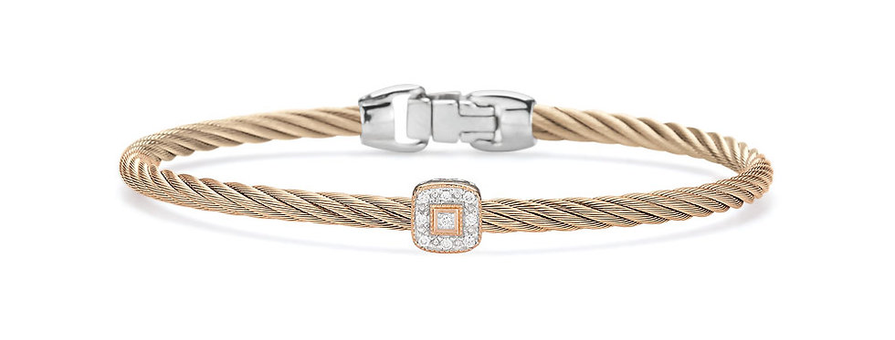 Alor Carnation Cable Essential Stackable Bracelet Ref. 04-26-S914-11