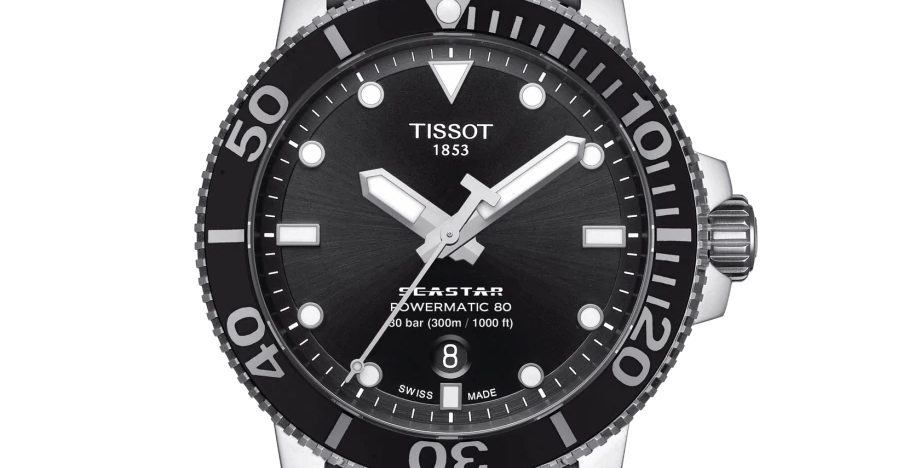 Tissot Seastar 1000 Powermatic Men's Watch Ref.  T120.407.11.051.00