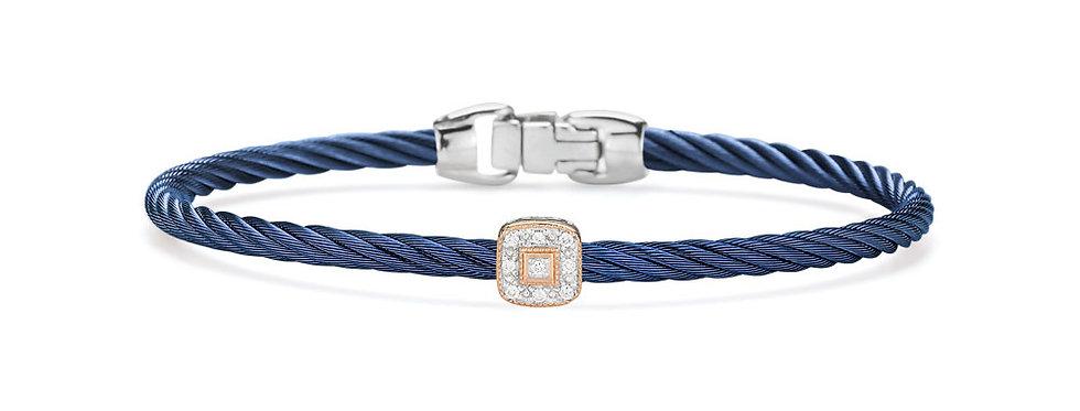 Alor Blueberry Cable Essential Stackable Bracelet Ref. 04-24-S914-11