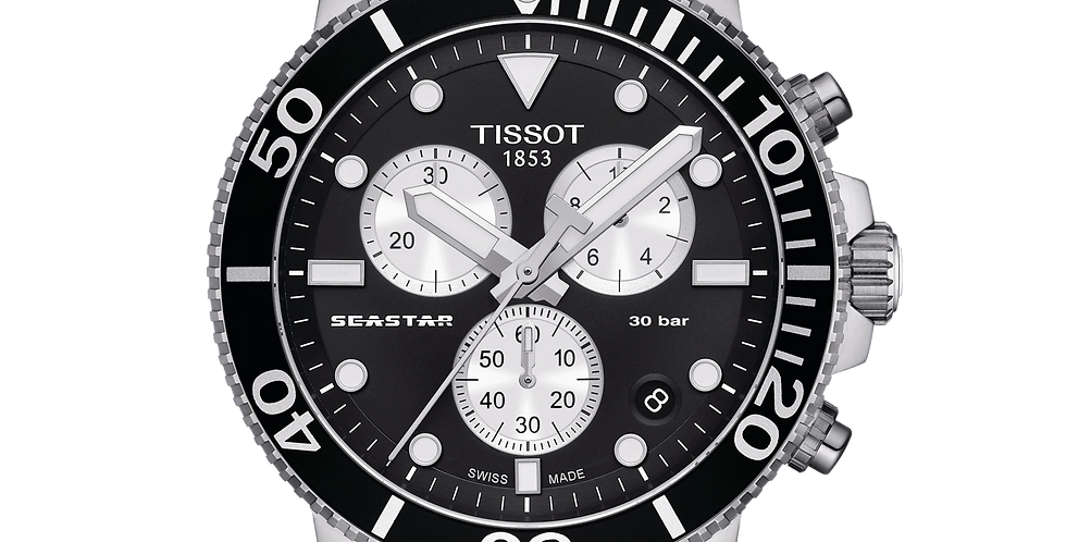 TISSOT SEASTAR 1000 CHRONOGRAPH WATCH T120.417.17.051.00