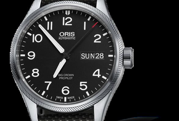 ORIS Big Crown ProPilot Big Day Date Men's Watch 01 752 7698 4164-07 5 22 17FC