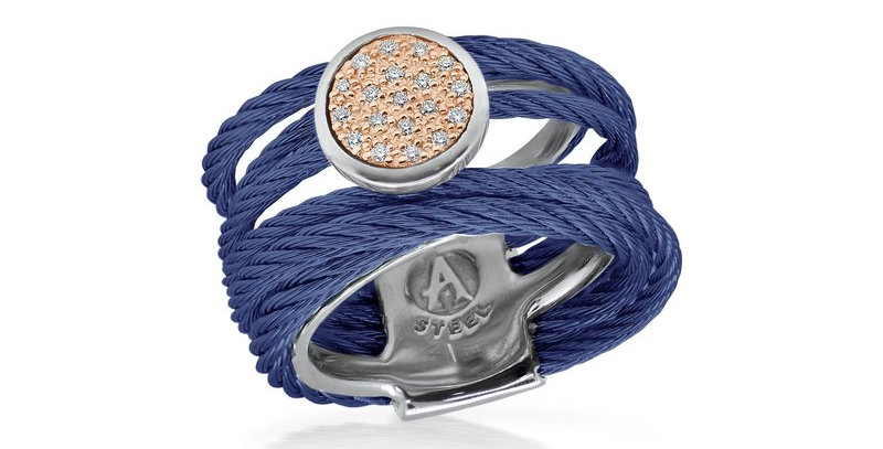 Blueberry Cable Intermix Ring