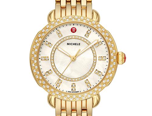 MICHELE SIDNEY CLASSIC GOLD DIAMOND Ref. MWW30B000004