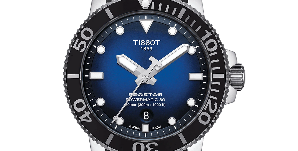 TISSOT SEASTAR 1000 POWERMATIC 80 WATCH T120.407.17.041.00