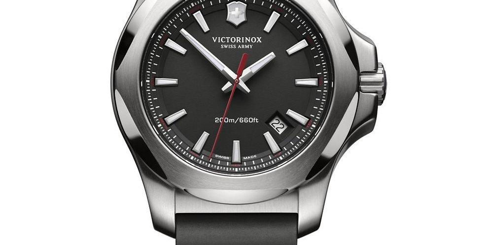 Victorinox Swiss Army INOX Black Rubber Strap Watch 241682.1