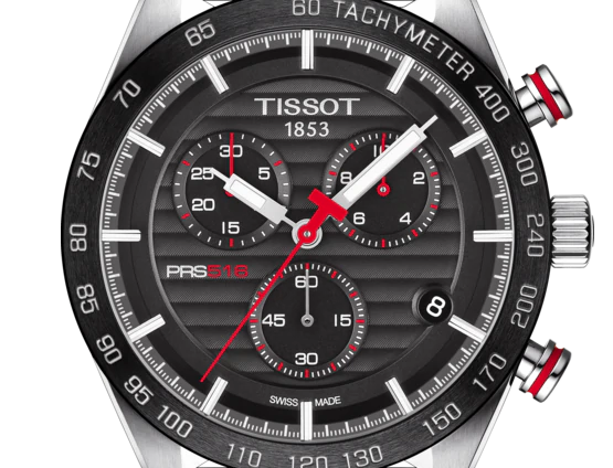 TISSOT PRS 516 CHRONOGRAPH WATCH T1004171605100