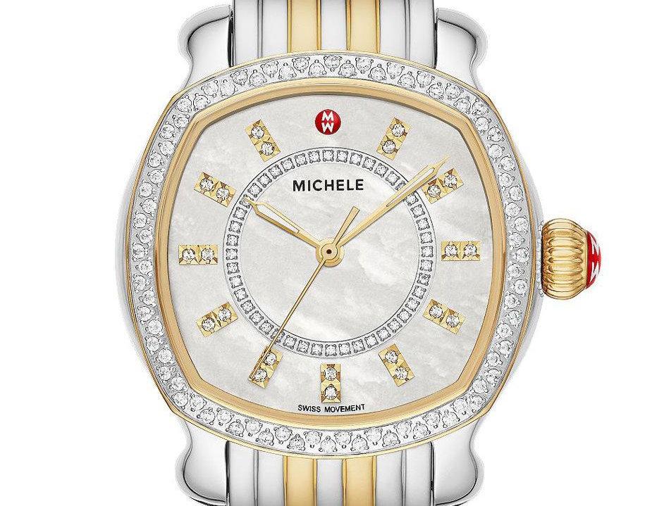MICHELE LILOU TWO-TONE 18K GOLD DIAMOND Ref. MWW22B000001
