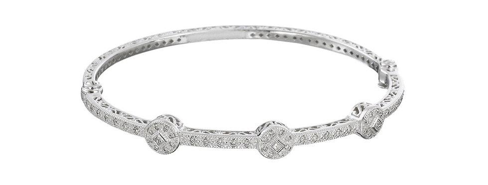 Alor 18K White Gold Bracelet 04-08-0932-11