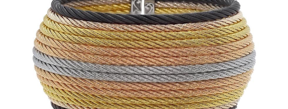 Multi-Colored Cable Oversized Cuff Ref. 04-50-0614-00