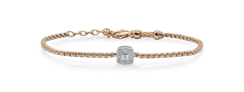 Carnation Chain Expressions Bracelet Ref. 06-25-1004-11