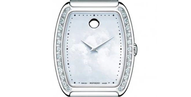 Movado Concerto Diamond Mother of Pearl Ladies Watch 0606548