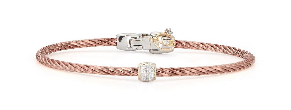 Alor Bronze Cable Single Station Stackable Bracelet Ref. 04-57-0917-11