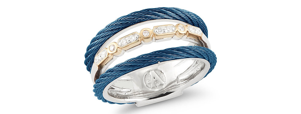 Layered Blueberry Cable Ring Ref. 02-24-S073-11