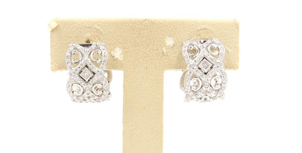 Alor Diamond Huggie Earring