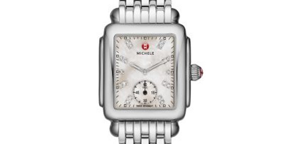 Michele Deco Mid, Diamond Dial Watch MWW06V000002