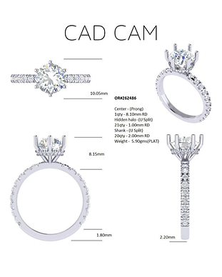 CAD CAM CUSTOM DESIGN