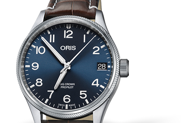 ORIS BIG CROWN PROPILOT BIG DATE Ref. 01 751 7697 4065-07 1 20 72FC