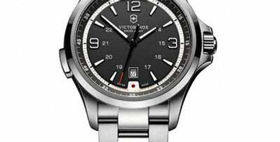 Victorinox Swiss Army Night Vision Black Dial Watch 241569