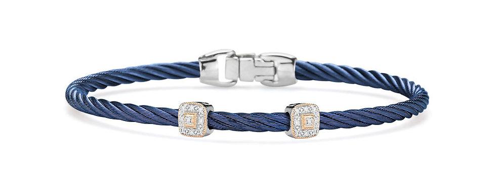 Alor Blueberry Cable Essential Stackable Bracelet Ref. 04-24-S924-11